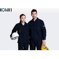 Buy cheap Anti - Pilling Seaman Custom Work Uniform Long Sleeve Waterproof Workwear from wholesalers