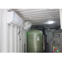 Buy cheap FRP Containerized Water Treatment Plant , Mobile Containerized Desalination Plants from wholesalers