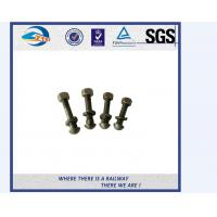 Buy cheap Galvanized Special Railway Sleeper Bolts And Nuts Track Bolts Fish Bolts from wholesalers
