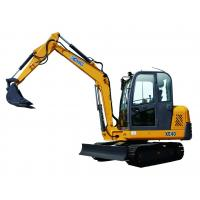 Buy cheap 6 Ton Mini crawler Excavator With Hydraulic Pump Rated Loading 5960kg from wholesalers