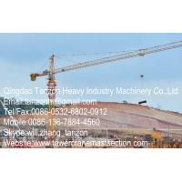 Buy cheap TC6013-8 China Leg Fixing Type Construction Tower Crane For Civil Buildings 60m Jib Length from wholesalers