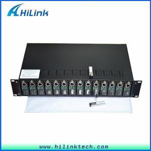 Buy cheap 10/100/1000M Ethernet Rack Mount Media Converter HL- Media Converter product
