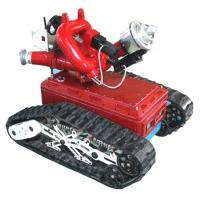 Buy cheap hot selling fire extinguishing robot from wholesalers