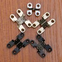 Buy cheap Cabinet Style 180 degree zinc alloy invisible folding door cross hidden hinges from wholesalers