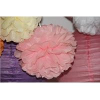 Buy cheap 8 Yard Tissue Paper Pom Poms Flower Balls for Party Decoration Birthday Paper Decoration from wholesalers