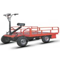 Buy cheap Open Type Electric Platform Truck Four Wheel With Driver Seat from wholesalers