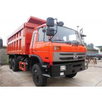 Buy cheap Dongfeng 6 X 4 Heavy Duty Dump Truck 10 Wheels Tipper Truck For Construction Material Transportation from wholesalers