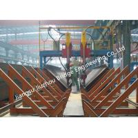 Buy cheap Heavy H Project Structural Steel Construction With Submerged Arc Welding Process from wholesalers