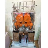 Buy cheap Stainless Steel Industrial Orange Juice Extractor Machine Squeeze Style With Tap from wholesalers