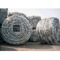 Buy cheap Low Carbon Steel 7.5cm SWG18 Coiled Barbed Wires from wholesalers