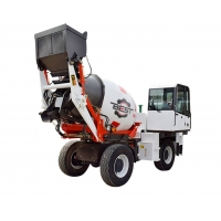 Buy cheap Mobile Self Loading Concrete Boom Pump Mixer Truck 1cbm Cement Mixer Machine from wholesalers