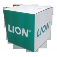 Buy cheap Grocery  Green Design Lion Brand Promoted and Storage Cardboard Dump Bin Display Case from wholesalers