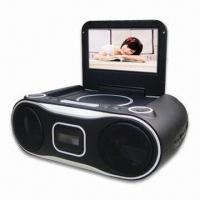 Buy cheap 7 Inches Portable DVD Player with 1seg TV, Built-in Stereo Speakers, Supports SD/MS/MMC Card from wholesalers