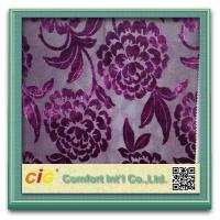 Buy cheap High Performance Cut Velvet Upholstery Fabric Sofa Upholstery Fabric With Polyester from wholesalers