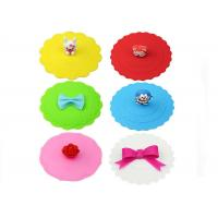 Buy cheap Custom Cute Cartoon Safe Silicone Cup Cover , silicone tea cup covers from wholesalers