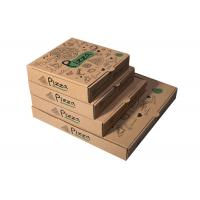 Buy cheap Recycled Pizza Packaging Boxes, Printed Brown Cardboard Food BoxesWith Free Sample from wholesalers