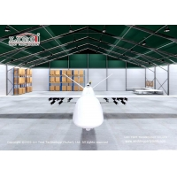 Buy cheap Flame Retardant PVC Hangar Tent with Aluminum Alloy Structure from wholesalers