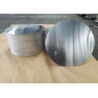 Buy cheap Cookware Aluminum Sheet Circle Silver With Pre Painted Non - Stick Black Coating product