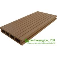Buy cheap Wood Plastic Composite Flooring, Outdoor WPC decking For Balcony, Easy Installation and Environmental Friendly from wholesalers