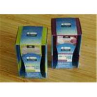 Quality Offset Printing Gold / Silver Stamping Disposable Paper Cardboard Packaging Boxes for sale