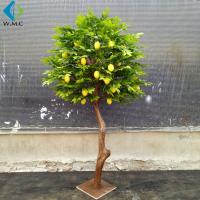 Buy cheap 1.2m Height Artificial Lemon Tree , Fake Fruit Tree Anti Ultra Violet from wholesalers