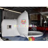 Buy cheap Waterproof Inflatable Clear Tent Bubble Tent Fireproof Inflatable Beach Tent product