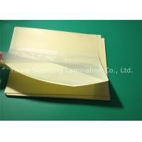 Buy cheap Protective Sticky Back Laminating Film A4 , Heat 10 Mil Laminating Sheets from wholesalers