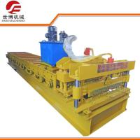 Buy cheap Automatic Glazed Tile Roll Forming Machine , Roof Panel Roll Forming Machine from wholesalers