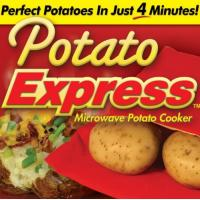 Buy cheap Re-usable As Seen on TV Products , Potato Express Microwave Potato Baked Bag from wholesalers