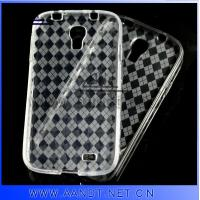 China 2013 Clear soft TPU case for Samsung Galaxy S4 on sale