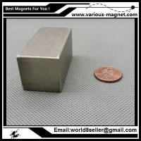 Buy cheap SmCo Magnet Block 50x25x25 mm YXG26, 350degree C High Temperature Mortor Magnet Permanent Rare Earth Magnets from wholesalers