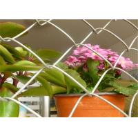 Buy cheap Smooth Surface Chain Link Fencing Rolls With 1 Inch Mesh Corrosion Resisting from wholesalers