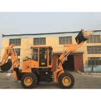 Buy cheap small earth moving equipment backhoe loader for construction work from wholesalers