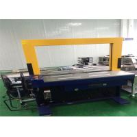 Buy cheap Automatic Corrugated Box Bander Machine / Blue Corrugated Carton Strapping Machine from wholesalers