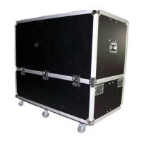 Buy cheap Poly Coated Heavy Duty Aluminium Flight Case , 6 Wheels PE Foam Metal Tool Boxes from wholesalers