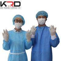 Buy cheap Disposable surgical supplies include ETO sterile latex glove and surgical gown from wholesalers