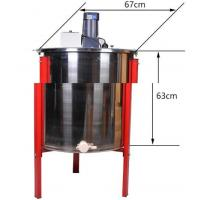Buy cheap hot sale beekeeping supplies 6 Frame 304 S/teel motorized  Honey Extractor from wholesalers