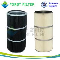 Buy cheap FORST Manufacture Polyester Pleated Filter Dust Cleaning Air Filter for Cement Industry from wholesalers