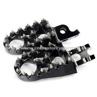 Buy cheap Anodized Color Dirt Bike Foot Pegs High Resistance Stainless Steel Teeth from wholesalers