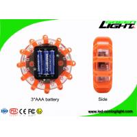 Buy cheap Plastic Emergency Disc LED Warning Light USB Rechargeable 3 LED Road Flare Traffic from wholesalers