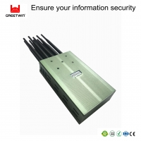 Buy cheap 3G 4G 5G LTE Lojack 9.5W 2.0dBi Cell Phone Signal Jammers from wholesalers