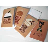 Buy cheap Commercial Custom Christmas Card Printing Service , Greeting Card Printing Services from wholesalers