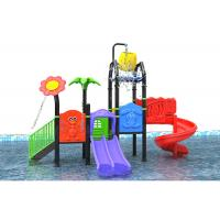 Buy cheap Water Theme LLDPE Toddler Outdoor Water Playground With Golden Flower from wholesalers