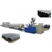 Buy cheap Polyethylene PE Pipe Production Line / Extrusion Plastic Machine SJ90 / 33 , SJ30 / 25 from wholesalers