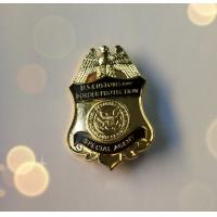 Buy cheap Copper / Brass Metal Police Badge , Us Military Badges For Collection Die Struck from wholesalers
