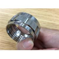 Buy cheap Custom Micro Aluminum Alloy Parts / CNC Iron Alloy Steel Machining from wholesalers