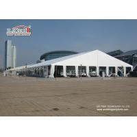 Buy cheap White Waterproof Translucent Portable Second Hand Marquee Tents Heavy Duty with 40m Width from wholesalers