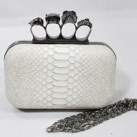 Buy cheap Clutch Bag Hard Case Woven Skull Evening Bag (EB014-3) from wholesalers