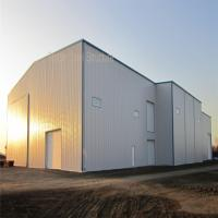 Buy cheap Light Steel Structure Prefab Hangar with BV Certificate and nice apprance from wholesalers