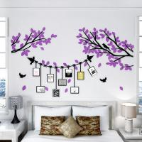 Buy cheap 3D removable acrylic wall stickers  family  wall decal living room home decor photo frame sticker from wholesalers